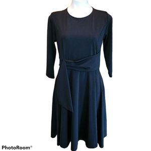 Perfect Black Dress with Pockets Large